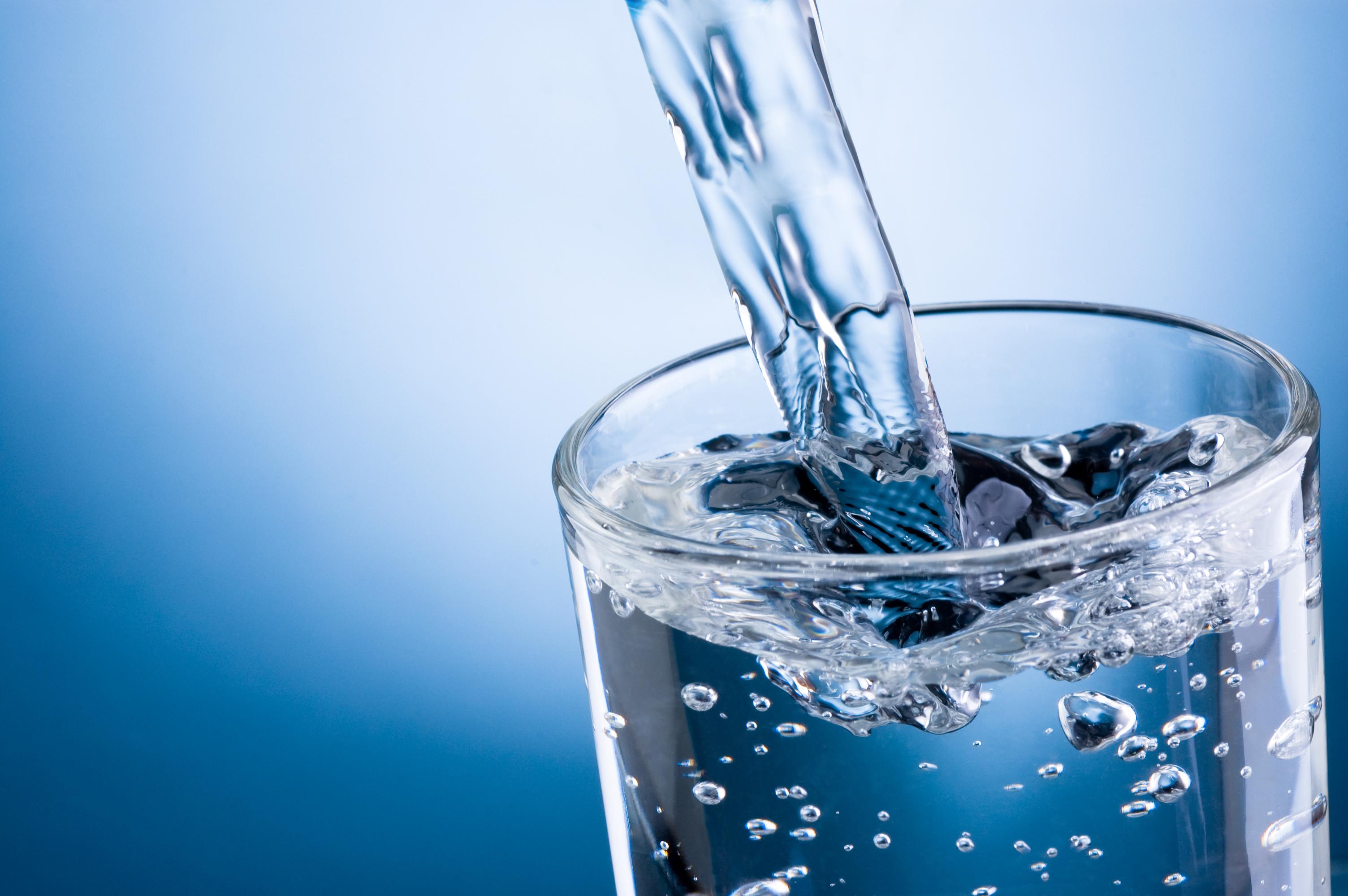 Вода в пансионате Штиль
