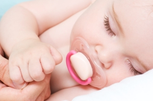 Newborn Beautiful Baby Sleeping