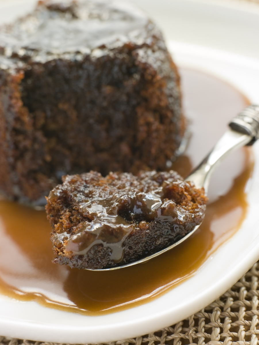 Sticky Toffee Pudding Cake with Buttered Caramel Sauce…an English ...